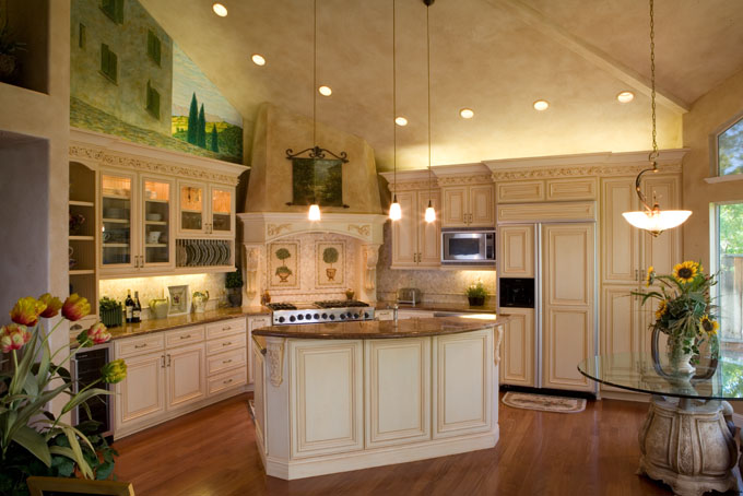 R j perez construction inc tuscan style kithcen - Kitchens styles and designs ...